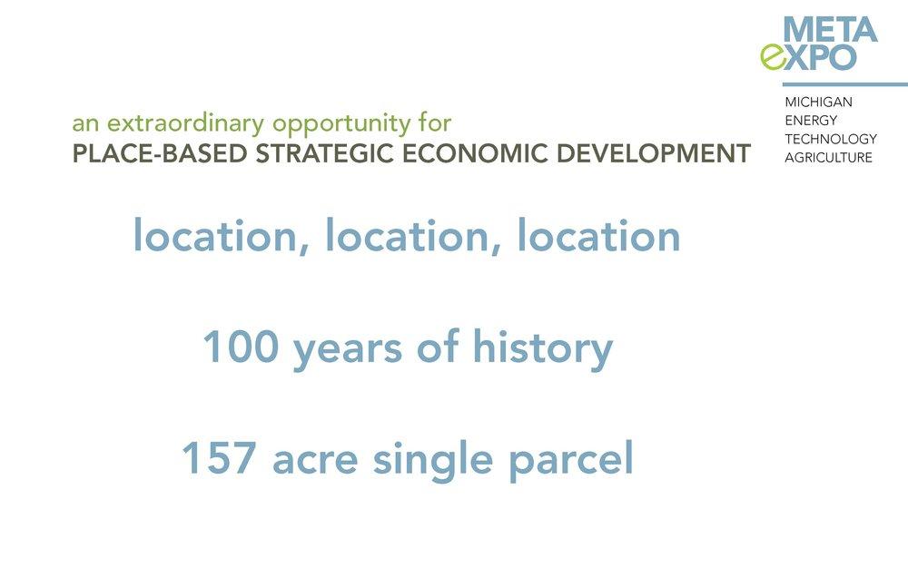 Place-based strategic economic development