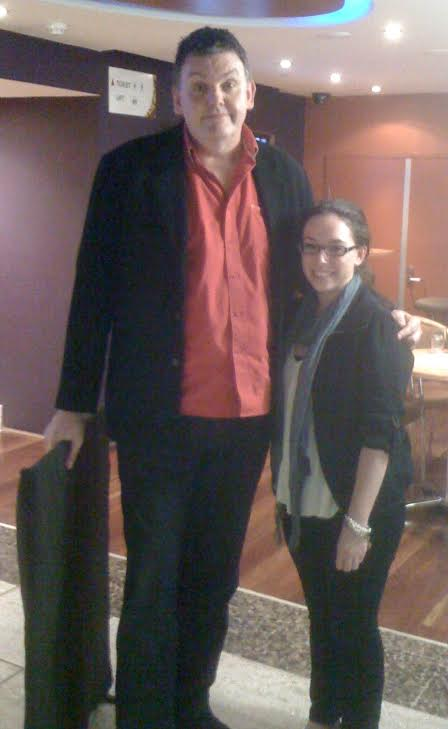 Graham with Laura at a trivia night in 2011.
