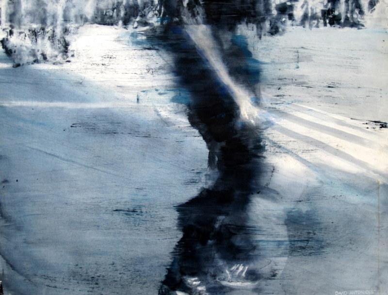 """boarder""   98 by 128 cm  Aquarell"