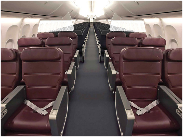 QANTAS 737 Business Class (photo from QANTAS website)