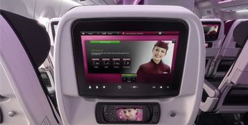 ECONOMY CLASS IFE (IMAGE FROM QATAR'S WEBSITE)