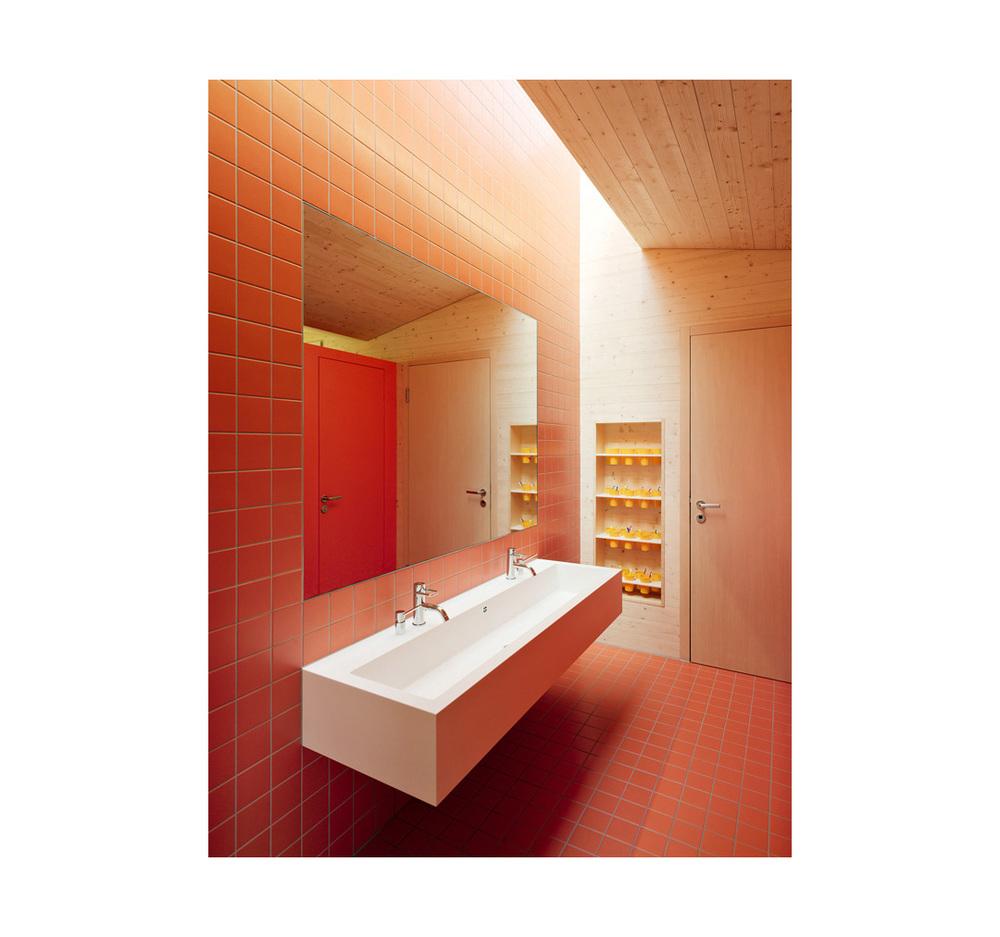 Neubau     Kindergarten Zelgli West    Untersiggenthal        Architektur:    Eglin Schweizer Architekten AG, Baden     www.echa.ch