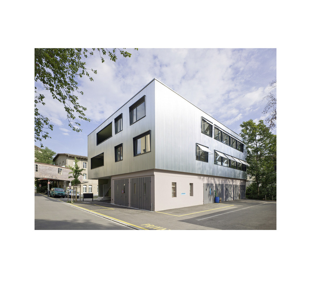 Neubau Bürogebäude Rosenstrasse, Winterthur        Architektur:    Bellwald Architekten AG, Winterthur     www.bellwaldag.ch