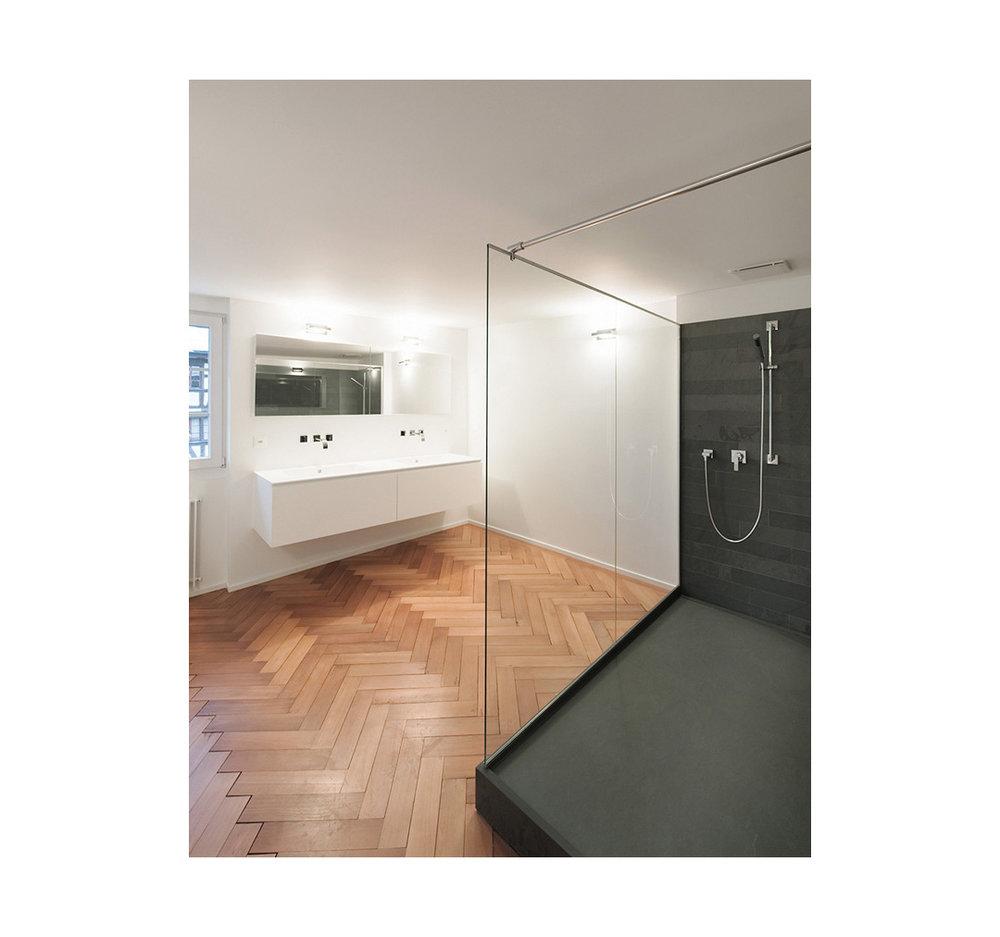 Umbau Weinbauernhaus, Flühgasse, Zürich        Architektur Sanierung:    Zollinger Architekten, Winterthur
