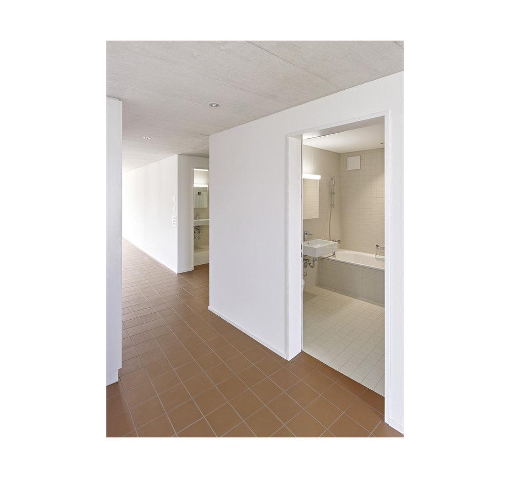 Neubau Gemeindebibliothek und Wohnungen  Watterstrasse 117, 8105 Regensdorf    Architektur:  Eglin Schweizer Architekten AG, 5400 Baden   www.echa.ch