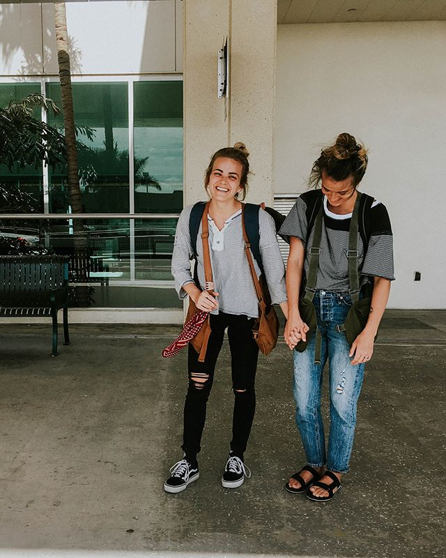 I love traveling around with my sister! She is savvy, smart, and has great instincts. She's the kind of girl who can pack a backpack for seven days and meet you in a new city 🌃 She's extremely low maintenance (except she eats veggies six times a day) and always ready for some exploring! Our goal this year is to jump on a Scott's Cheap Flight and do some freaky shit internationally! What has been your fave destination? ☀️🧡