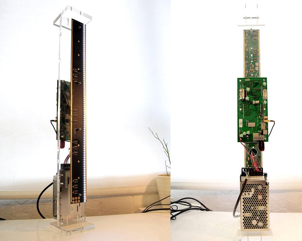 Lightvert ECHO Prototype 1 - 600mm LED unit
