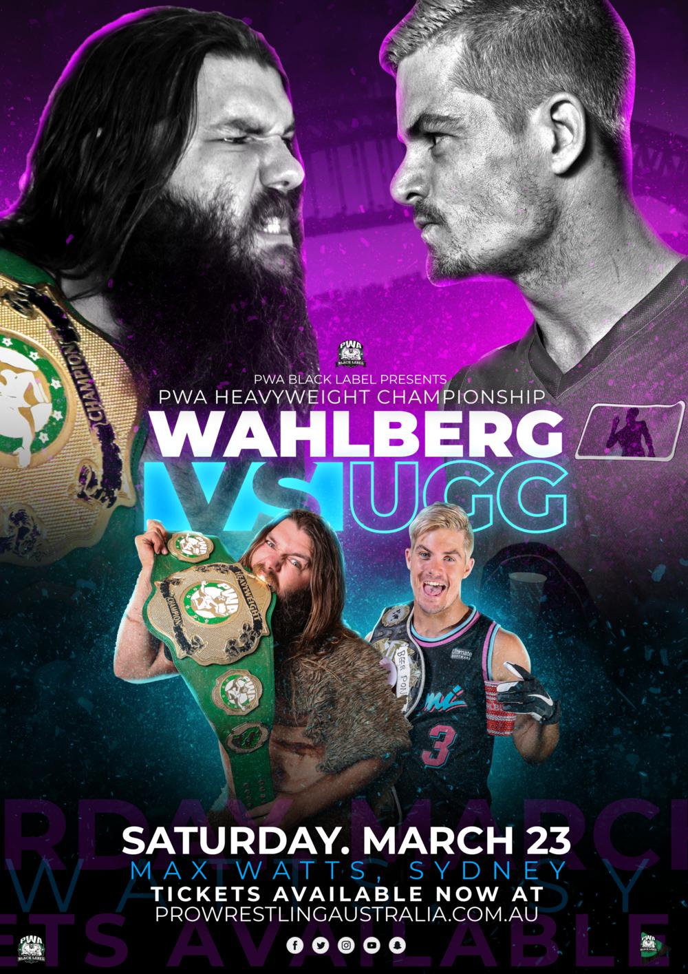 PWA Black Label Wahlberg Vs UGG A4 Poster 2.png