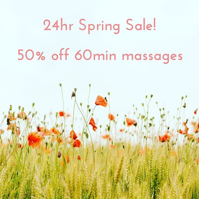 We made it! Spring has arrived! 🌻🌸🌷🌼🌺 • • And to celebrate the change in seasons I'm offering a 24hr hour sale - 50% of 60min abhyanga's (Ayurvedic massage) 💆🏼‍♀️💆🏼‍♂️usually $90 but if you book in the next 24hrs (3pm tomorrow Perth time) you'll only pay $45! • • Spring is one of my favourite times of the year. We slowly come out of our winter slumber, the flowers start to bloom, the sunshine warms our bodies ☀️ and there is a freshness in the air ✨ • • If you're feeling like you  could do with a little nourishment and warmth after the cold winter book now as this offer won't last for long! 📞 Andrea on 0431257866 or PM • • • #abhyanga #springtime #winternomore #hotoilmassage #ayurveda #anandaayurvedicwellness #blissfulbeing