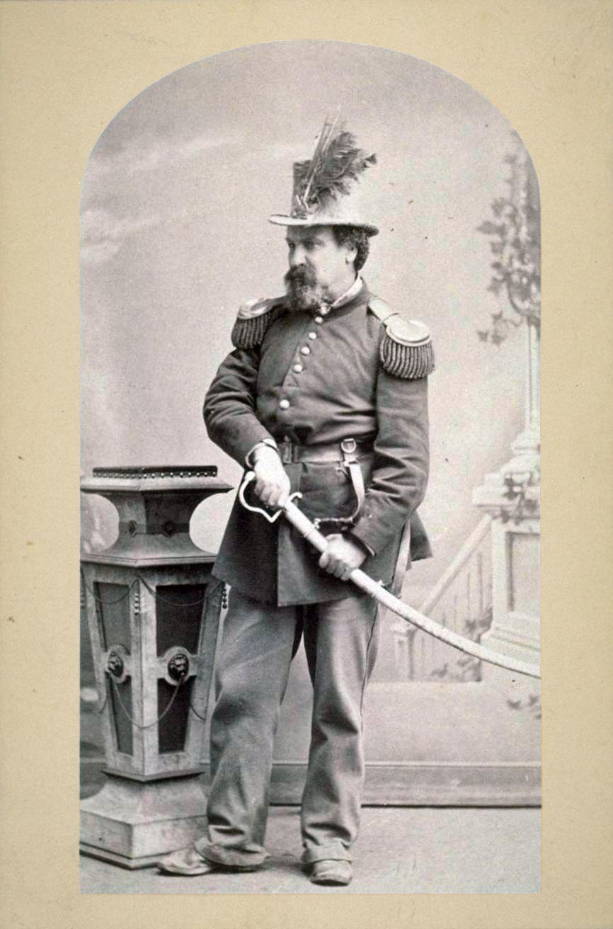 1859 - Emperor Norton in full regalia.