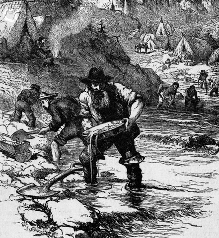 1848 - California Gold Rush.