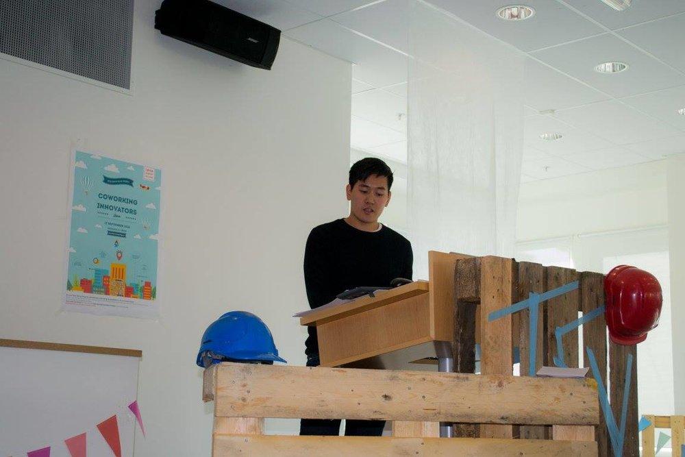Presentation at the Coworking Innovators Jam - 17.09.2016 - Tøyen Startup Village, Oslo - Presenting,