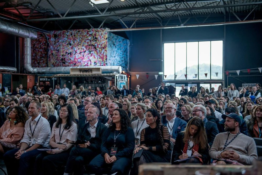 Speaker at the Oslo Innovation Week 2017 - 27.09.2017 - Oslo Municipality tent at Salt, Oslo - Presenting,