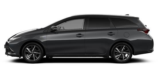 Toyota Auris Hybrid Grand Tourer - 2018 Plate    From £215 per week.