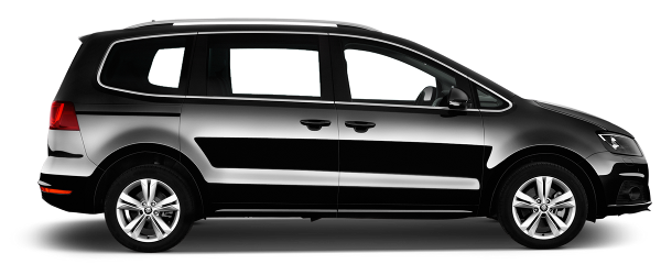 Seat Alhambra SE Lux - 2016-17 Plates    From £259 per week.