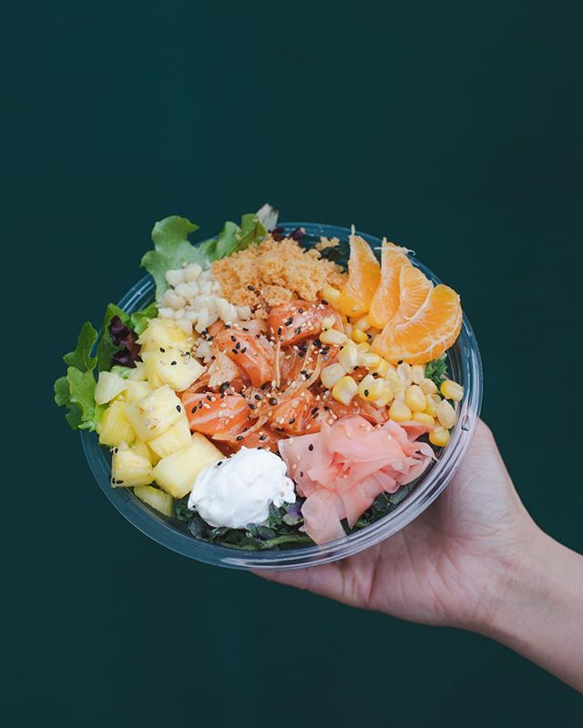Add some fresh citrus to your bowl by adding mandarin oranges or make it a philly bowl or wrap by adding some cream cheese! For a limited time only! #pokiland #poki #poke #food #foodie #fresno #clovis #fresnostate #instaeat
