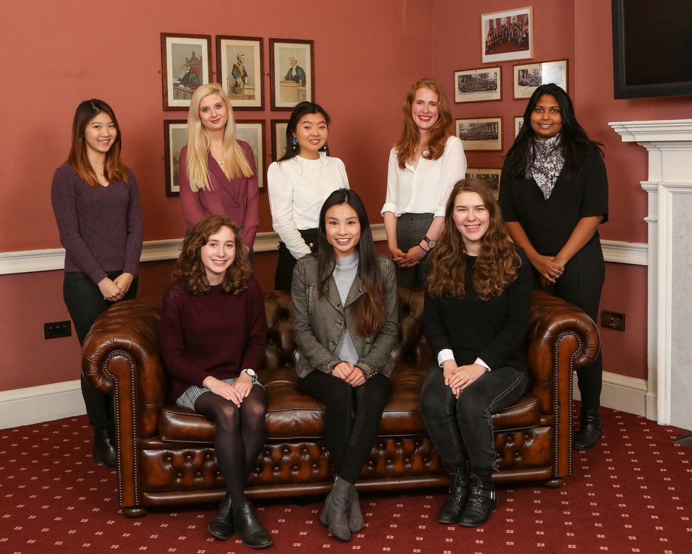 2017-18 King's Women in Law Committee, proudly sponsored by the  Honourable Society of the Middle Temple  and  One Essex Court
