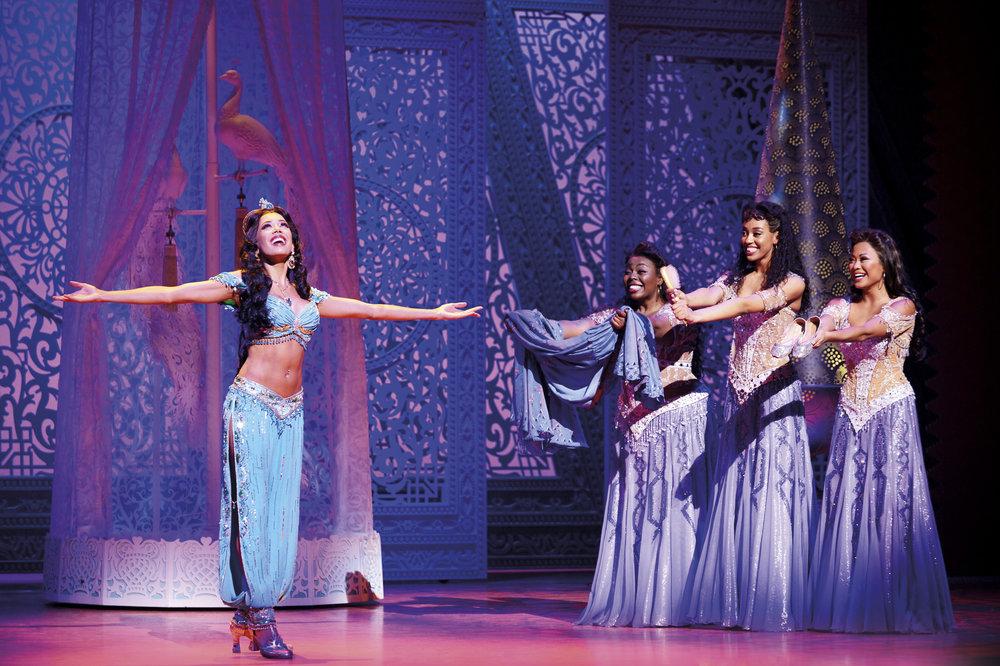 Aladdin Prince Edward Theatre Jade Ewen (Jasmine) and company Photographer Deen van Meer © Disney.jpg