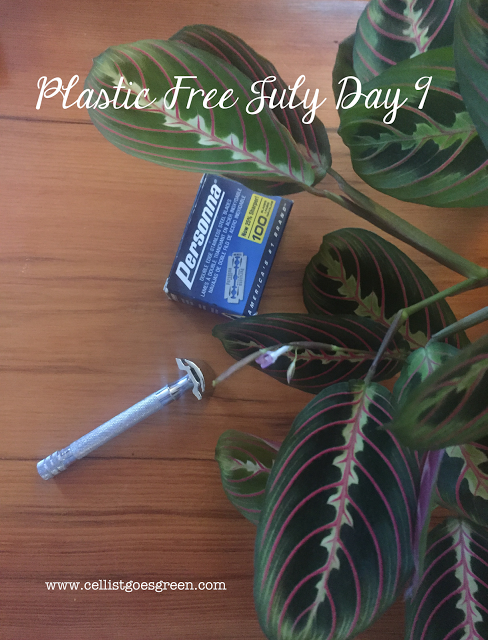 Plastic Free July Day 9 Shave with a safety razor