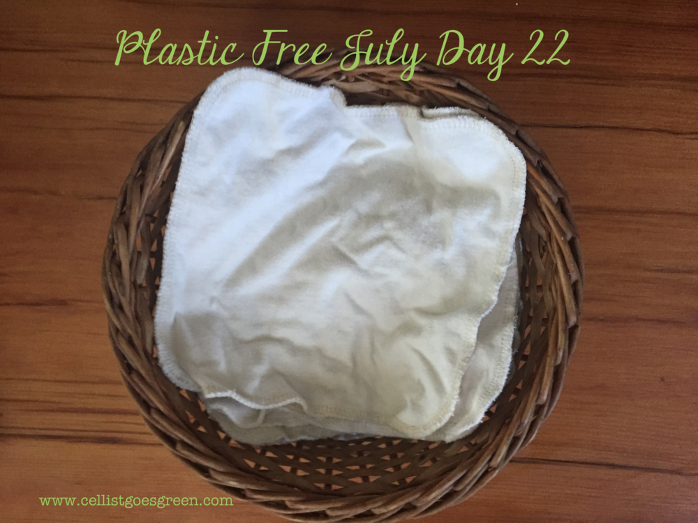 Plastic Free July Day 22: Use handkerchiefs! | Cellist Goes Green