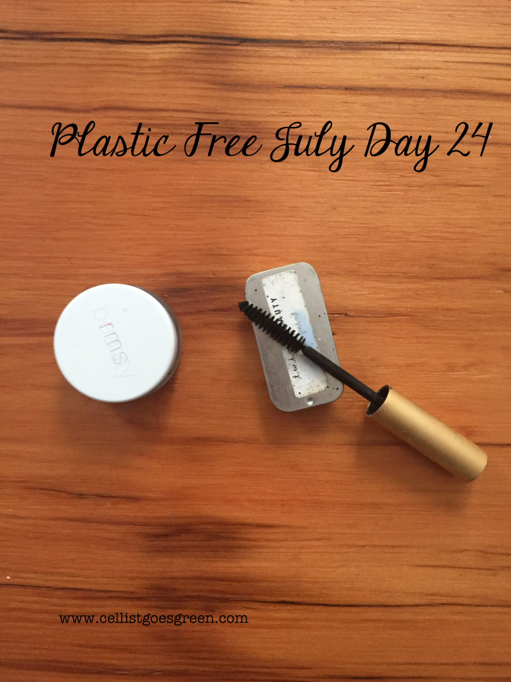 Plastic Free July Day 24: Plastic-free makeup options