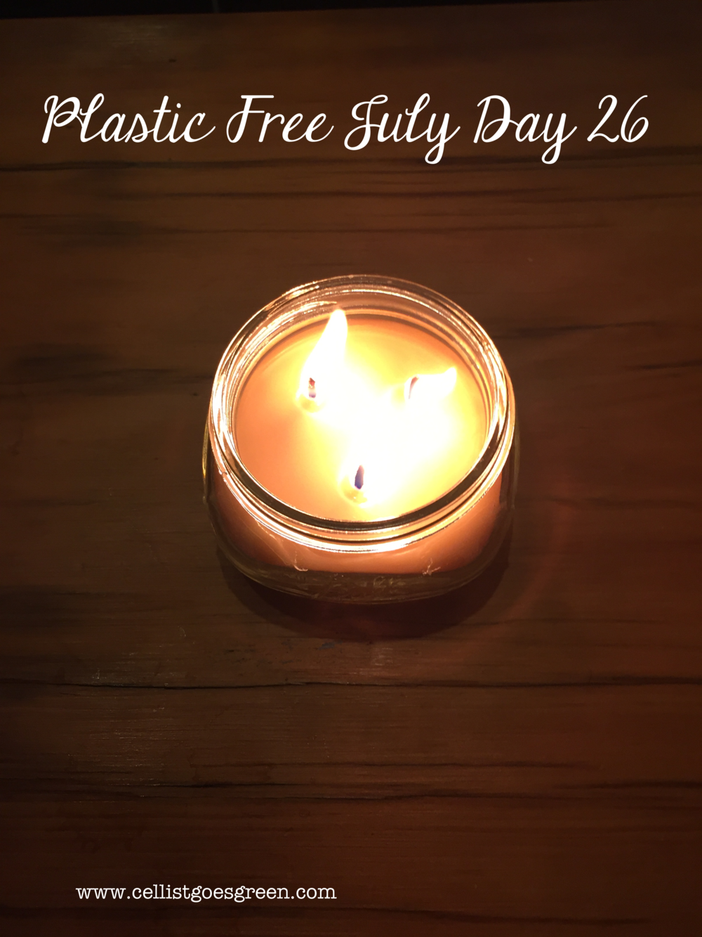 Plastic Free July Day 26: The benefits of beeswax candles | Cellist Goes Green