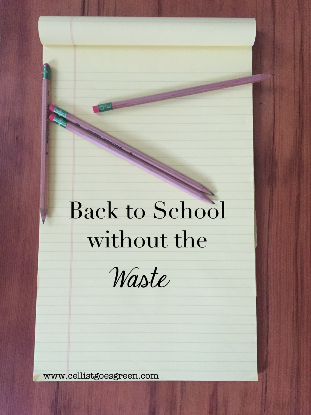 Back to School without the Waste | Cellist Goes Green