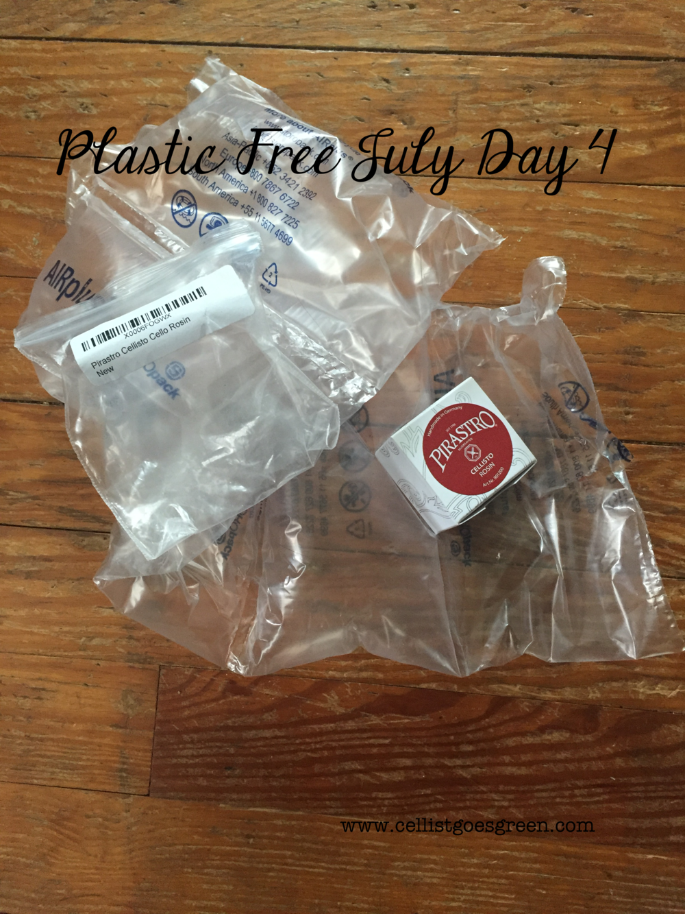 Plastic Free July Day 4 | Cellist Goes Green