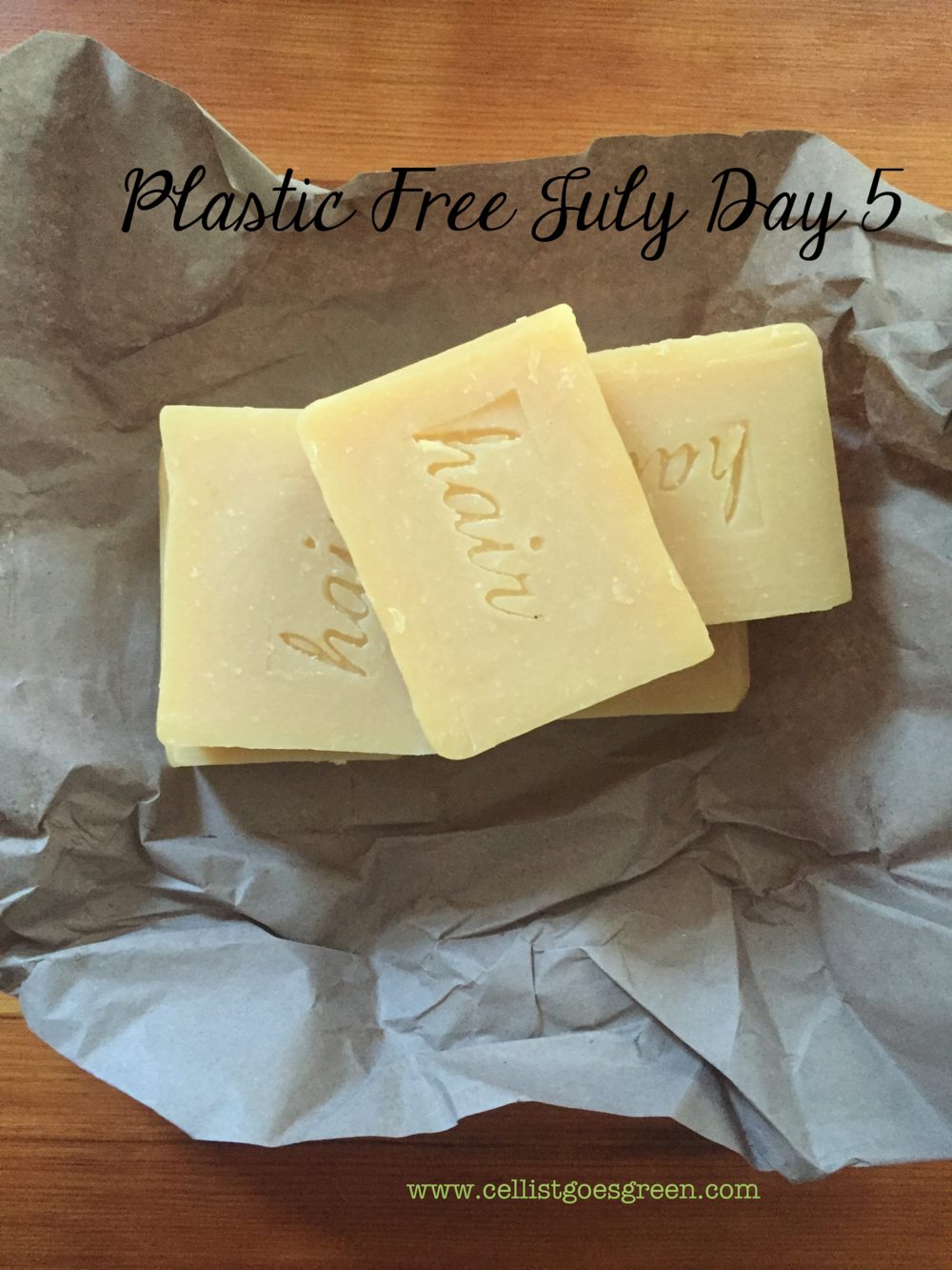 Plastic Free July Day 5: Shampoo Bars | Cellist Goes Green