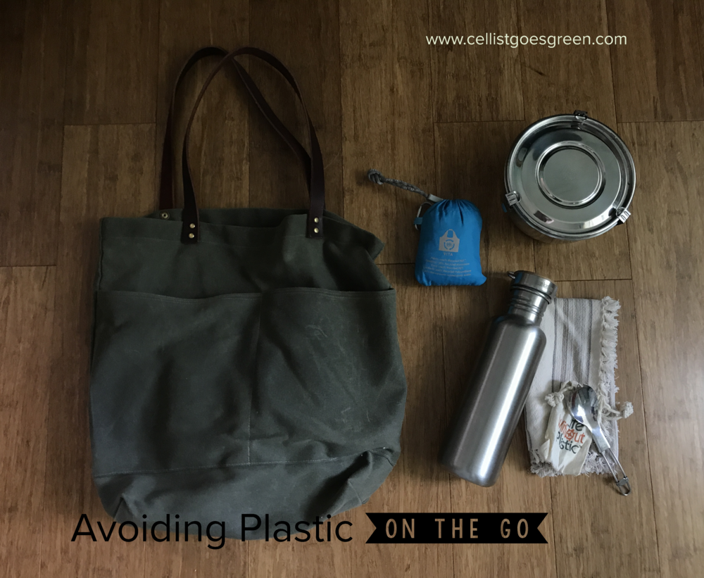 Avoiding Plastic On the Go | Cellist Goes Green