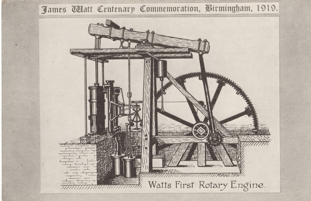 Watt's First Rotary Engine
