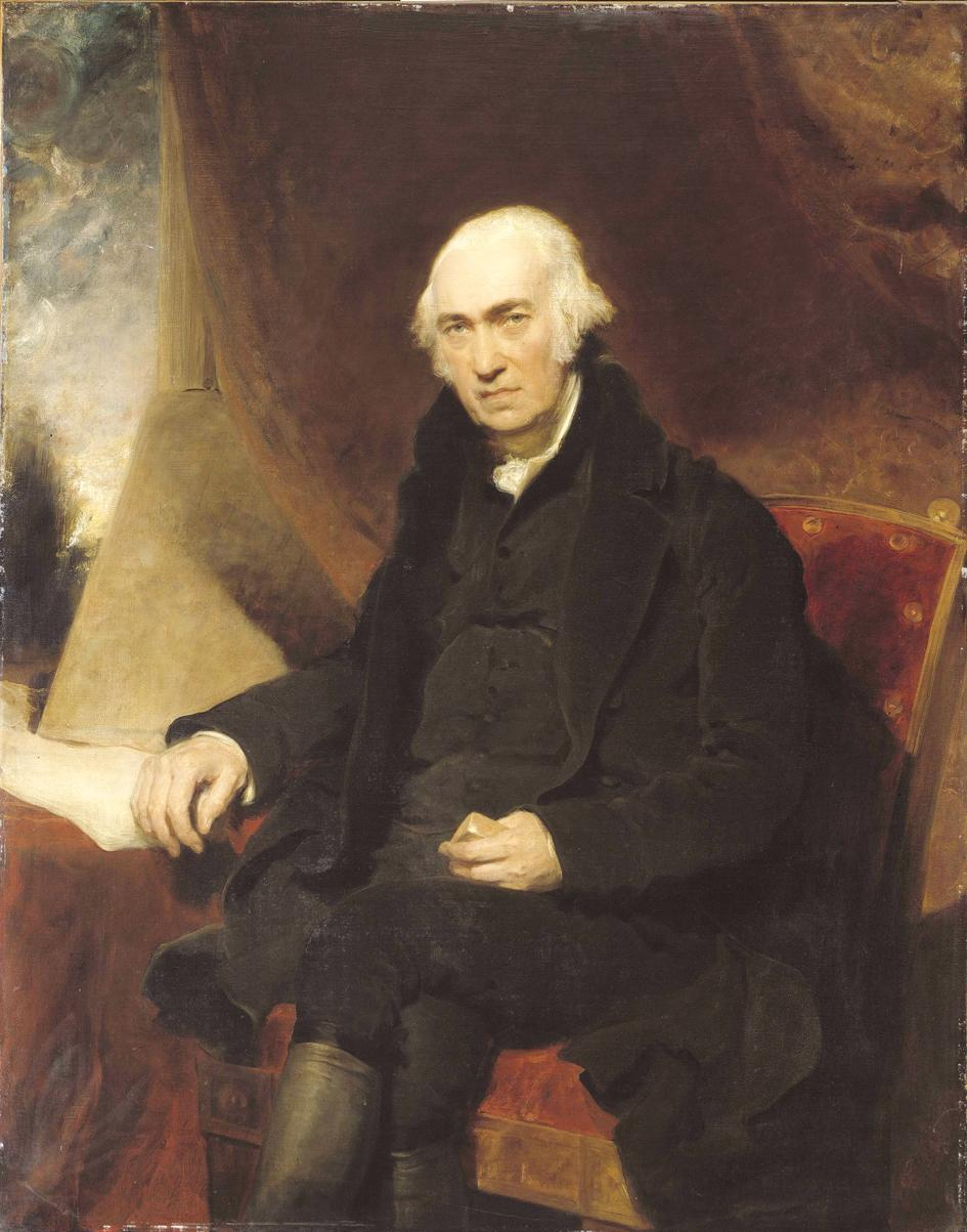 Portrait of James Watt by Sir Thomas Lawrence, 1812