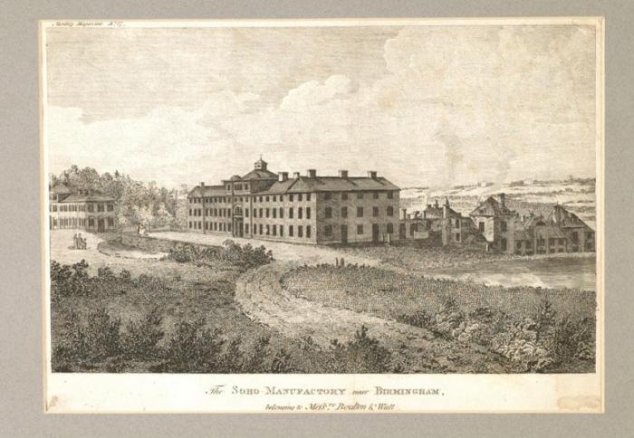 Soho Manufactory  Copyright Birmingham Museums Trust