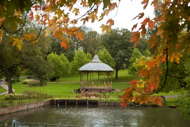 Bandstand in Handsworth park. Photo courtesy Birmingham Open Spaces Forum.