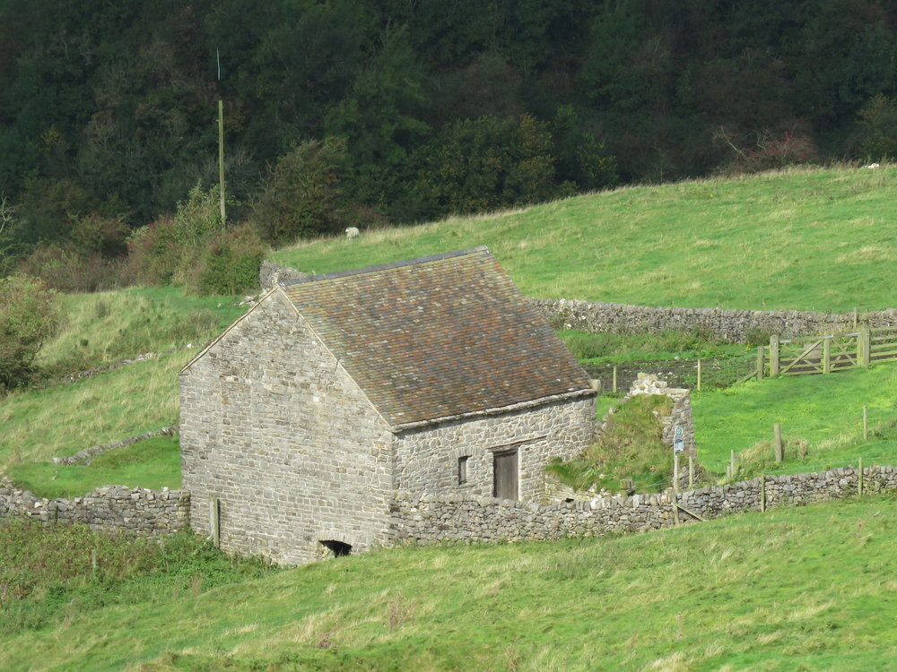 Ecton Mine engine house in the Manifold Valley, National Trust