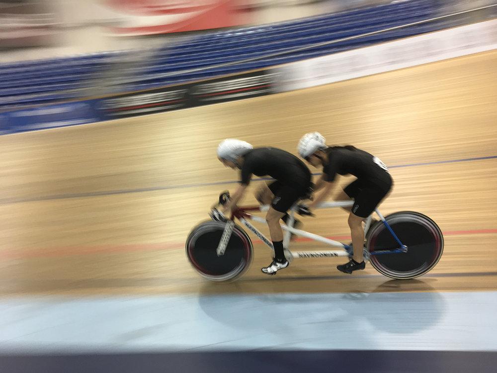 Robina Farina Paralympic track racing
