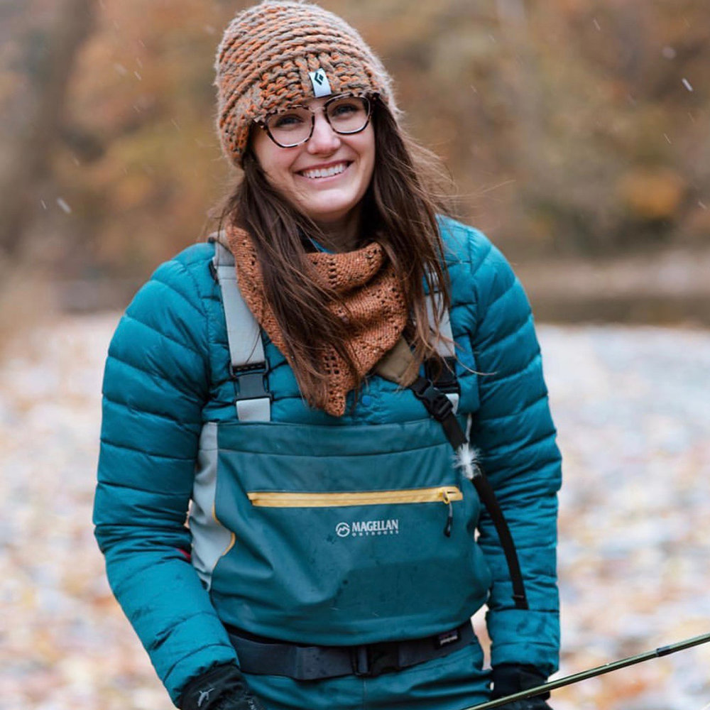 Jessica Suvak  is founder of  Green Girl Gang , Flatlanders Podcast and co-chapter leader of  Ohio Women On The Fly . Green Girl Gang encourages women to get outside, protect the earth, and empower each other. Flatlanders Podcast aims to extend this women's community and promote outdoor recreation in the Midwest through stories of our relationship with each other, nature, and the outdoors. Jessica enjoys trail running, snowboarding, rock climbing, fly fishing – being outside, moving her body is what she lives for.