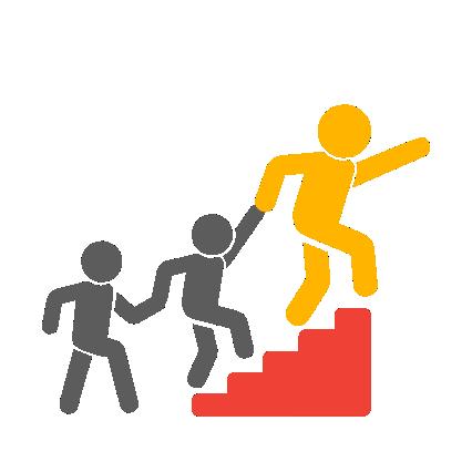 IM dalībnieki tic katra bērna spējām sasniegt augstus mērķus, iedvesmo un atbalsta bērnus ceļā uz šiem mērķiem.