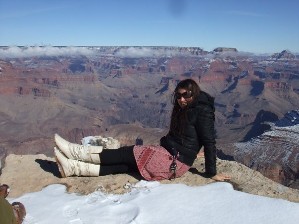 Playing at the Grand Canyon