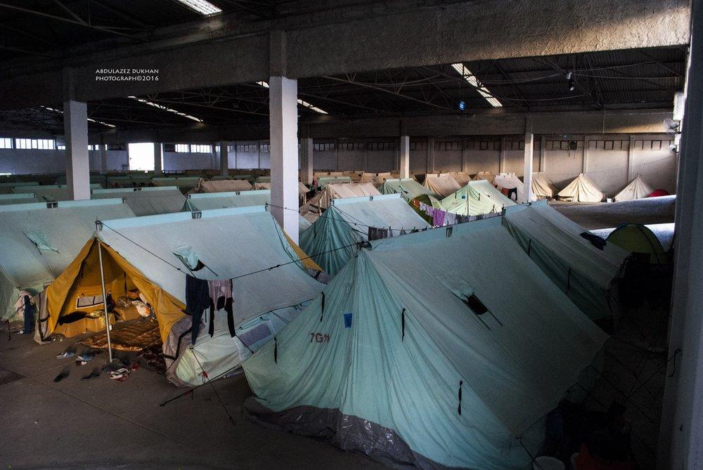 Vasilika camp, Hangar 6