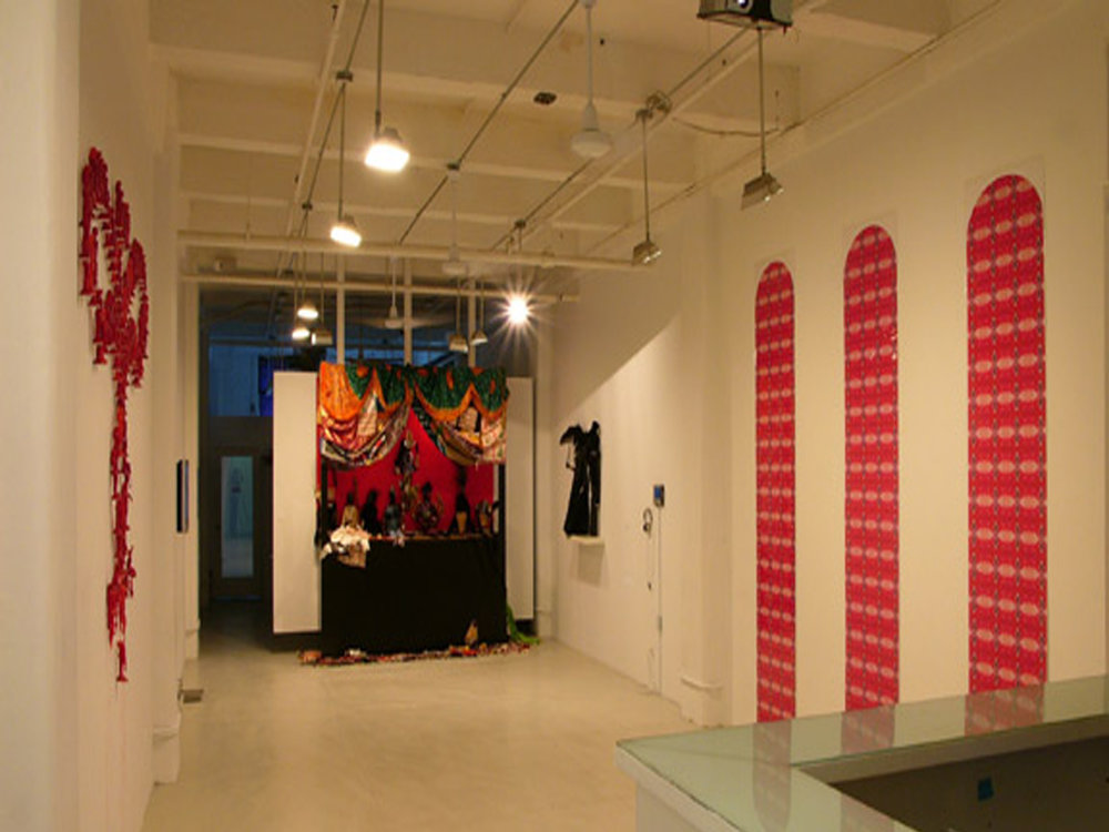 """Babylon the Great..."" Rush Arts Gallery installation view  Digital C-Print  Dimensions variable  2006"