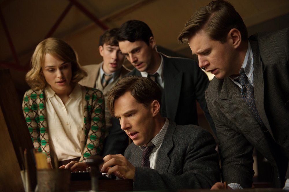 Scene from The Imitation Game 2014 film