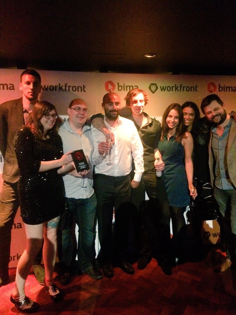 Red Badger Fortnum's team win BIMA award