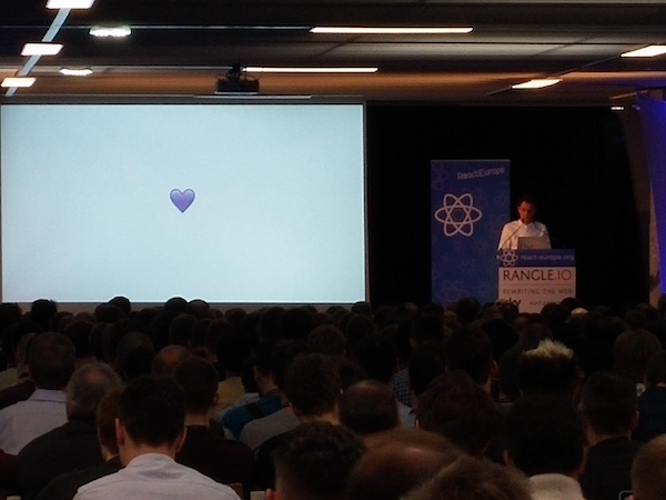 Dan Abramov's Redux talk at React Europe
