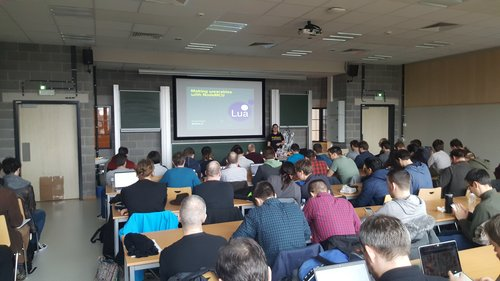 A truly open conference - Lua language at FOSDEM