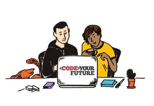 Coding without borders – how CYF empowers refugees