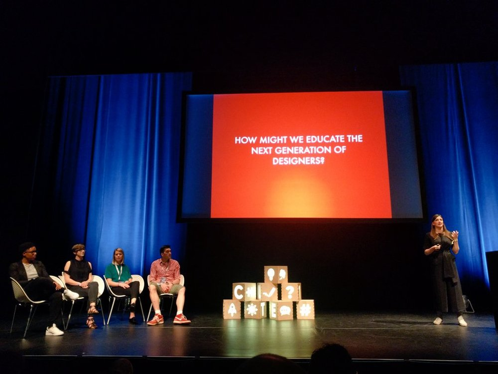 Educating the next generation of designers talk at UX London