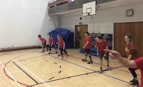 Match report: Red Badger dodgeball