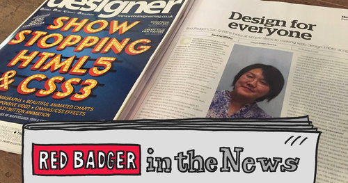 Red Badger in the News: UX and Design Edition