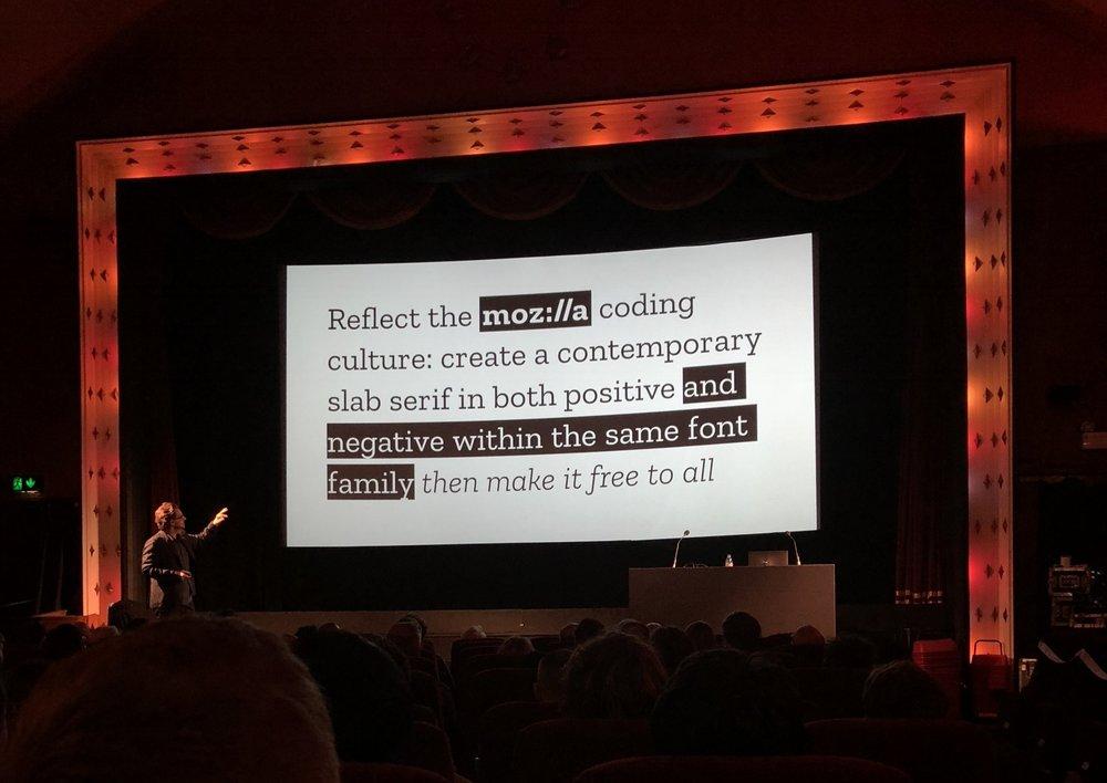 Creating a typographic voice